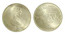 pcc2131_38) CANADA - SILVER 5 DOLLARS 1973 OLIMPICS GAME - ELIZABETH II