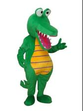 Halloween Crocodile alligator fat adult size mascot costume birthday party dress