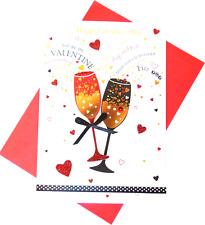 (320) Single Valentine Card - Happy Valentine's Day  (Size M)