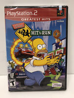 The Simpsons: Hit & Run 1st Print (PlayStation 2, PS2 2003) FACTORY SEALED READ!