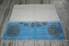 Handmade Peacock Mandala Cotton Kilim Rug 4'x6' Feet Kilim Rug Carpet Rugs USA