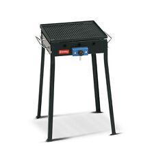 Barbecue con piastra ghisa Ferraboli mono 90 gas gpl a 1 fornello grill - Rotex
