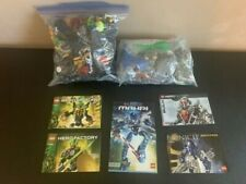 Lego Technic/Bionicle Lot With Instructions/Extra Pieces!
