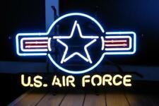 "U.S. Air Force Neon Light Sign 24""x20"" Beer Bar Decor Lamp Glass Artwork"