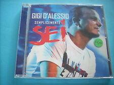 CD Semplicemente Sei gigi d'alessio spedizione € 4,50 fino a 6 cd