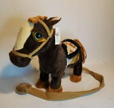 Electronic Dancing Singing Walking  Brown Toy Horse