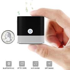 Mini Bluetooth Speaker Hi-Fi Sound 50ft Range for Shower Room Bike Car