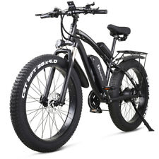 "26"" Electric 1000w 48v Fat tire bicycle mountain ebike city bike moped Unisex"