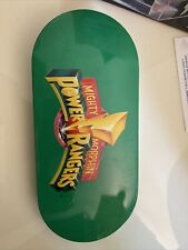 Mighty Morphin Power Rangers Tin QVC vintage 1994 With 4 Watch Covers