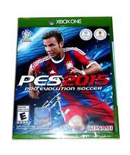 PES Pro Evolution Soccer 2015 Microsoft Xbox One Brand New Sealed!