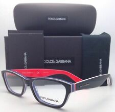 DOLCE & GABBANA Rx-able Eyeglasses DG 3175 2764 52-16 Black on Multi-Color Frame