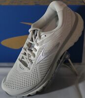 BROOKS GHOST 12 WOMEN'S RUNNING SHOES, GREY/WHITE, SIZE 10, 120305 1B 112