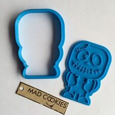 Cute Zombie Frankenstein Cookie Cutter - Halloween - fondant mold 3dprinted
