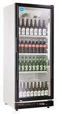 Flaschenkühlschrank mit Glastür 310 Liter Getränke Kühlschrank Gastro Gewerbe