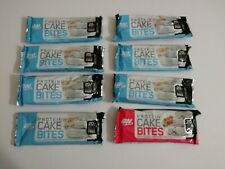 ON Optimum Nutrition Bars 8 Protein Cake Bites 2.22 oz Exp 7/2019 NEW GREAT BUY!