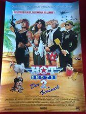 Hot Shots 2 Kinoplakat Poster A1 Charlie Sheen, Der zweite Versuch