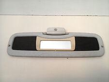 Smart 450 Sonnenblende rechts Beifahrerseite Spiegel grau marmoriert gelocht #5