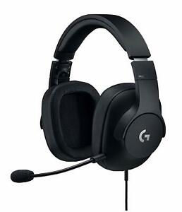 Logitech G Pro Wired Surround Sound Gaming Headset for PC, PS4, Xbox, Nintendo