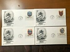 Northwest Indian Masks First Day Covers-Set of 4