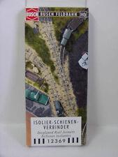 Busch 12369 Isolier-Schienenverbinder 20 Stück zur Feldbahn H0f Neu