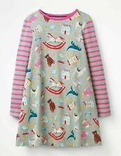 Ex Mini Boden Robe tunique en Strawberry Design 2-7 ans NEUF