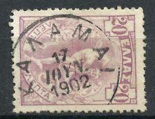 Greece 1901 Flying Hermes 20 Lepta W Postmark Type Vi Kalamai