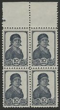 Russia 1937 Liapin #502A Perf 12 1/2 certificate  MNHOG margins fine