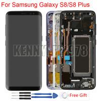 Complet Écran LCD Vitre Tactile Chassis Pour Samsung Galaxy S8 G950 S8 Plus G955