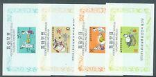 South Korea 1970 Fairy Tales set of 4 miniature sheets sg.MS857