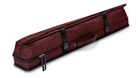New Predator Urbain Rugged Hard Pool Cue Stick Case - 3 Butts x 5 Shafts - RED