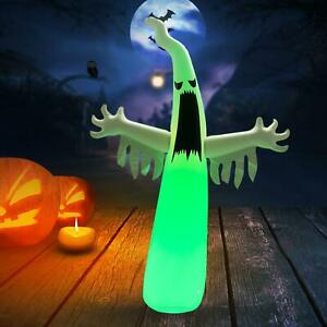 Halloween Scary Inflatable Ghost Tumbler Outdoor Party Scene Decor Lamp Props