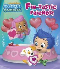 Fin-tastic Friends! (Bubble Guppies) (Glitter Board Book) - Acceptable - Random