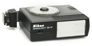 Nikon Speedlight SB-15 Flash Flashgun - Auto, Manual, TTL