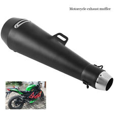 51mm Motorcycle Exhaust Muffler Pipe Slip On ATV Scooter Motorbike Universal USA
