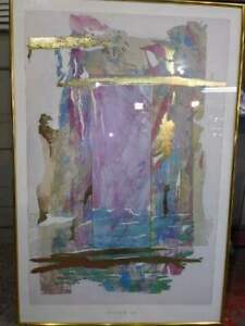 Ian W. King large print framed very colorful