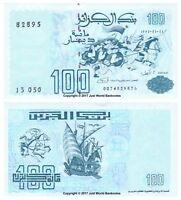 Algeria 100 Dinars 1992  P-137  Banknotes  UNC