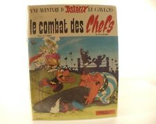 BD Astérix Le combat des chefs Goscinny Uderzo Dargaud 1966