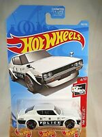 2019 Hot Wheels #160 HW Rescue 4/10 NISSAN SKYLINE 2000 GT-R White w/Black St8Sp