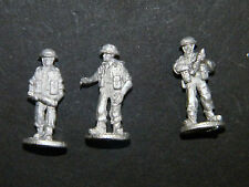 """SHQ BD11 1/76 Diecast WWII British Mediterranean 3 Man 4.2"""" Mortar Crew for FBG3"""