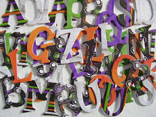Bo Bunny  *FRiGHT NiGHT* Chipboard Letters