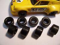 16 pneus URETHANE  PROTO SCALEXTRIC  année70-80