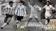 AFFICHES MESSI BARCELONA PELÉ NEYMAR MARADONA ARGENTINE SOCCER FOOTBALL FOOTBALL