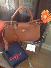 New Boldrini Isla Italian Leather Grab Handbag / Satchel
