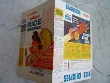 1959 Kellogg's Rice Krispies Turbo-Beam Car Empty Cereal Box