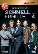 SCHNELL ERMITTELT (Ursula Strauss), Staffel 4 (3 DVDs) NEU+OVP