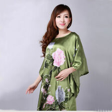 Faux Silk Everyday Nightdresses & Shirts for Women