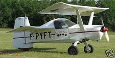 LC-6 Criquet Croses Airplane Desktop Wood Model Big New