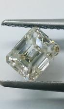 Emerald Cut Loose Real Natural Diamond 0.98 Carat I-J Color I1 Clarity Beautiful