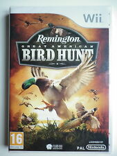 Remington Great American Bird Hunt Jeu Vidéo Wii