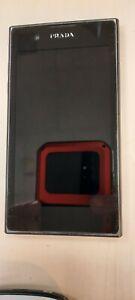 LG  PRADA   Saffiano  P940 - 4GB - Schwarz  Smartphone